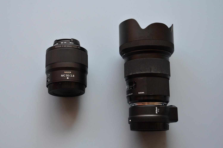 尼康Z卡口50 2.8新微距镜头开箱,不像想象中那么孱弱