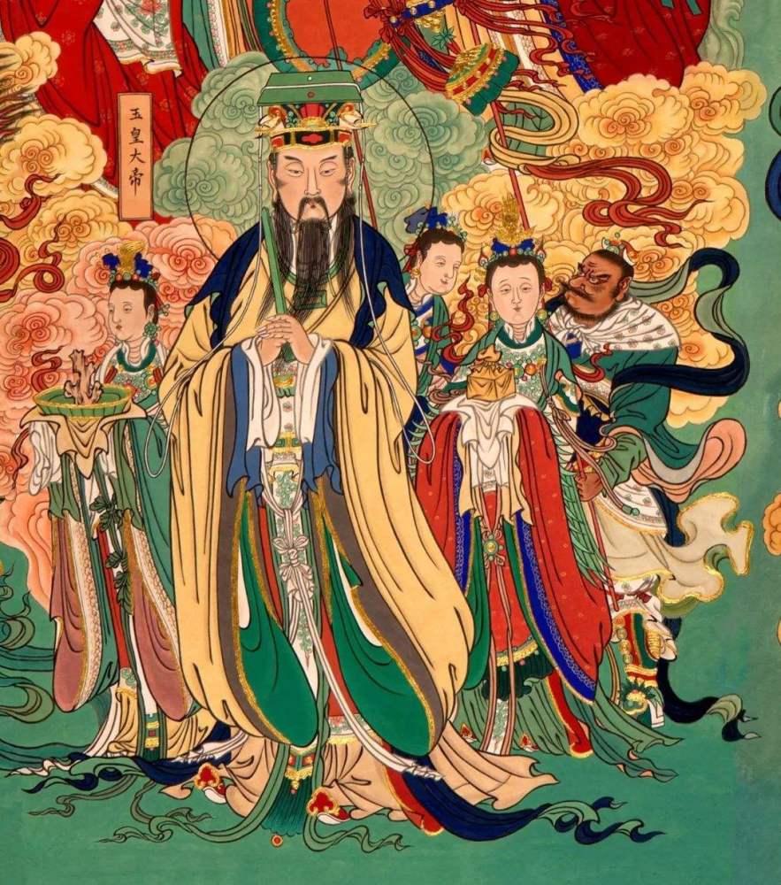 玉皇大帝的演变:从神到人,再从人到神